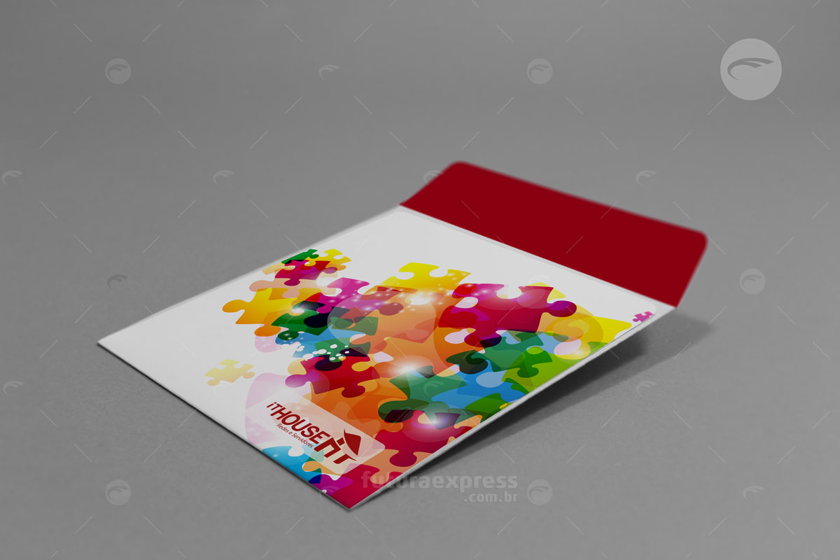 Envelope CD com Aba Cod: 110