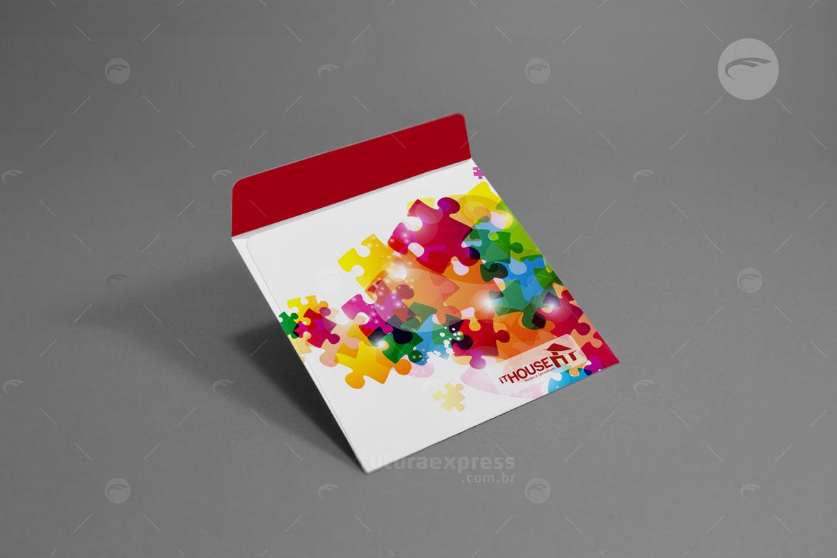 Envelope CD Padrão com Aba