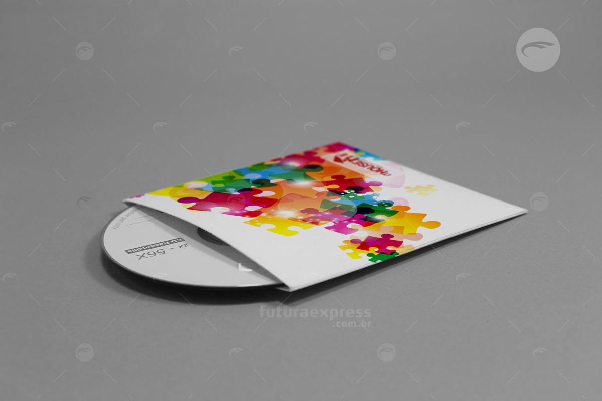 Envelope CD Padrão sem Aba