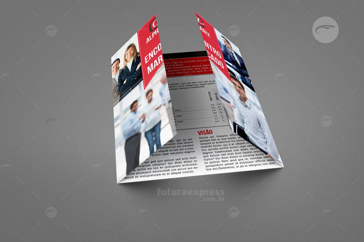 Tri-Folder Dobra Portão