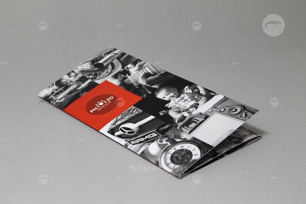 Tri-Folder Slim Carteira