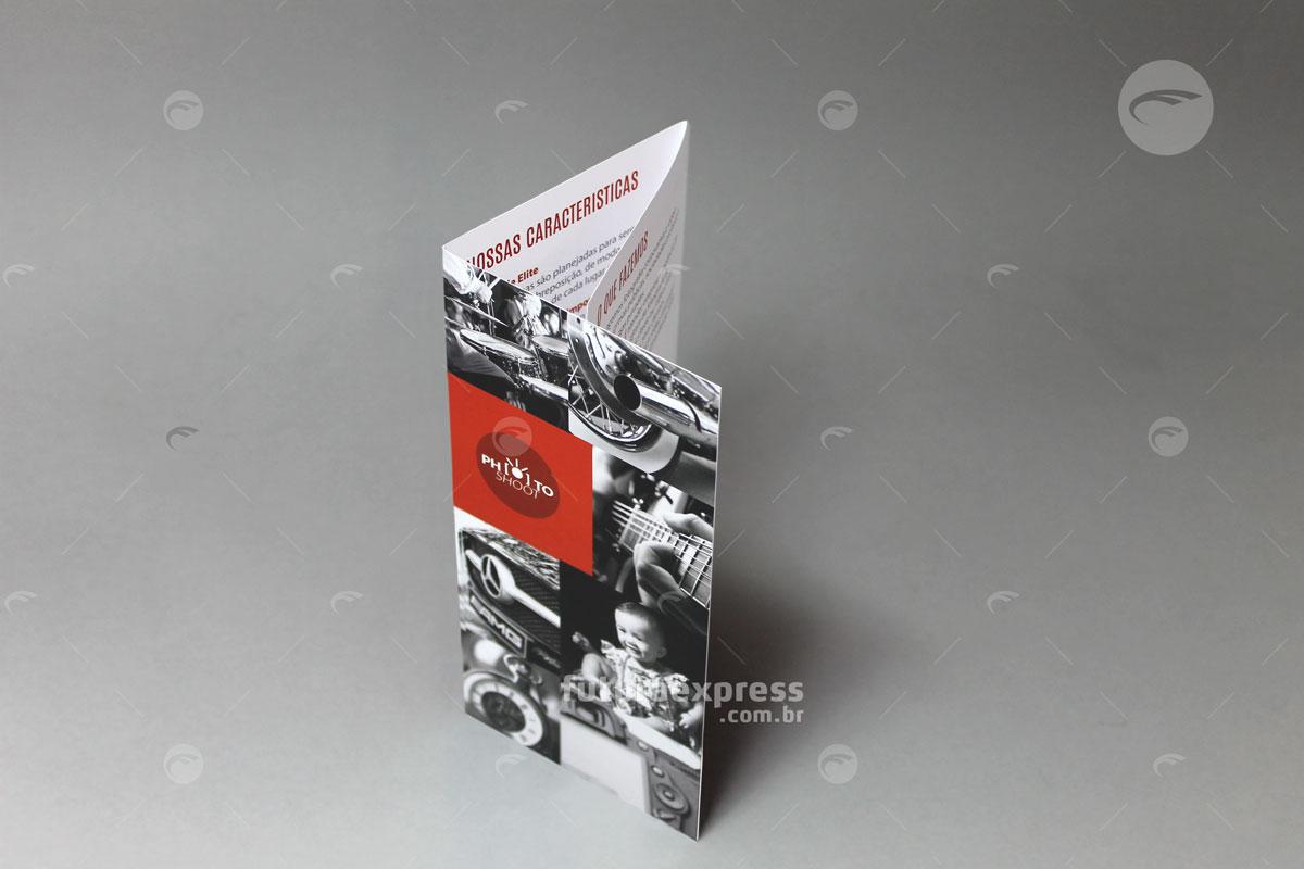 Tri-Folder Slim Dobra Carteira Cod: 165