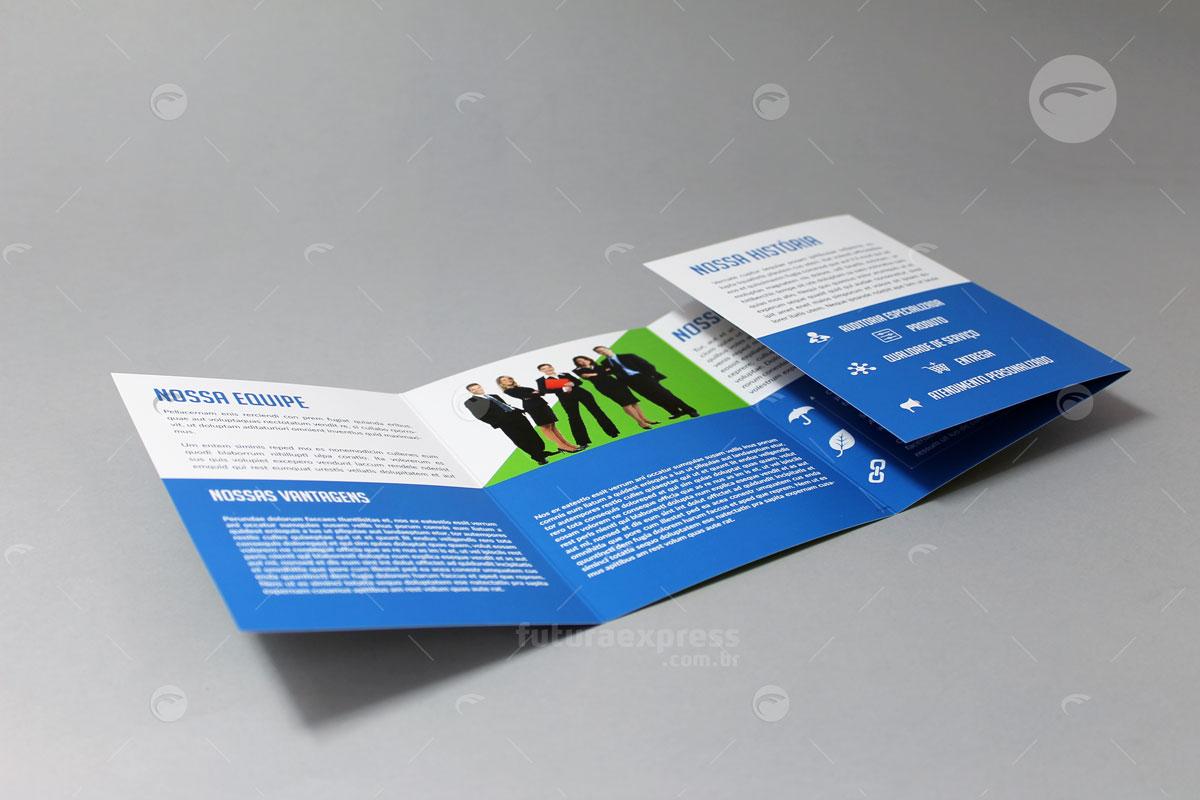 Quadri-Folder Dobra Carteira