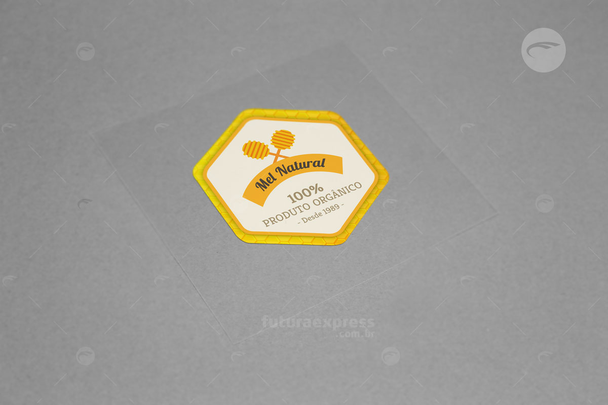 Adesivo Hexagonal