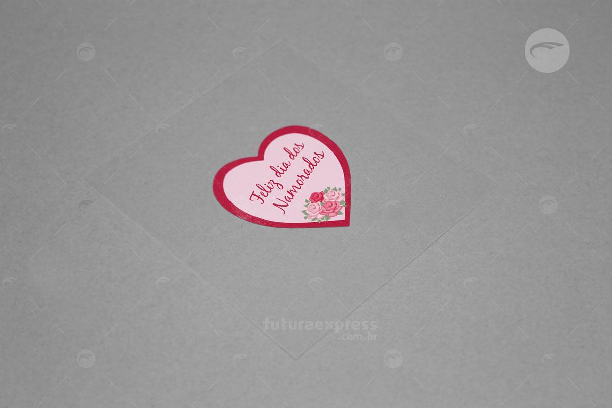Adesivo Coração Cod: 250