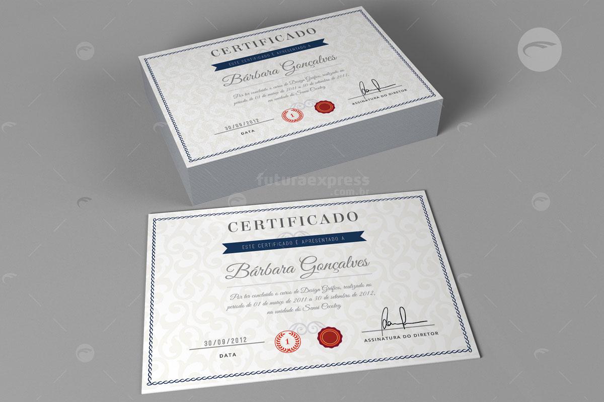 Certificados e Diplomas