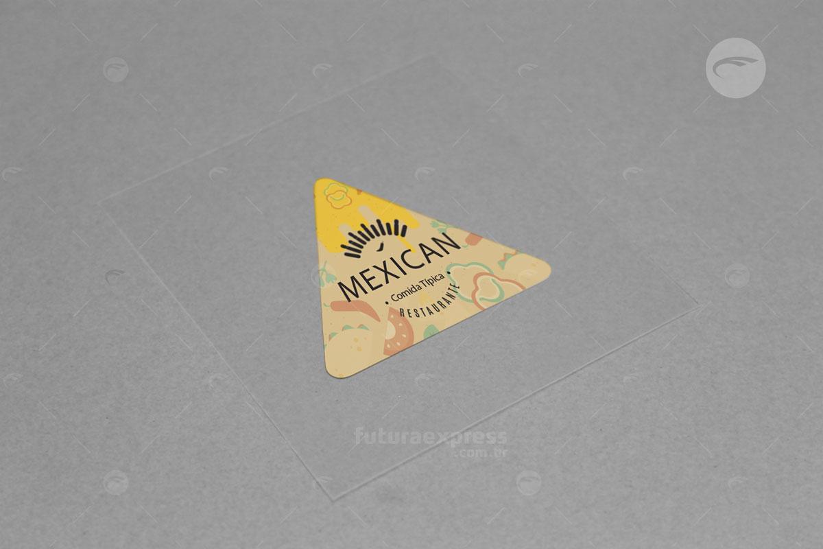 Adesivo Triangular