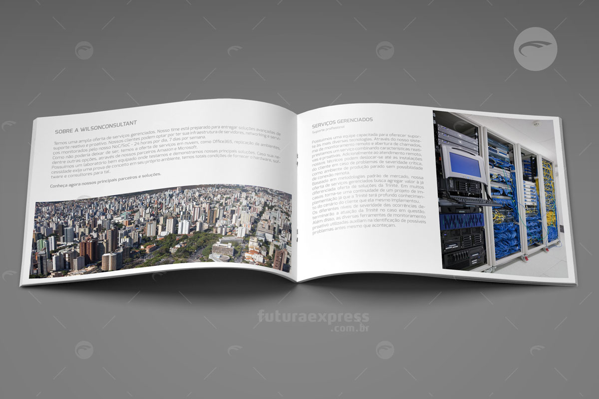 Revista Horizontal Grampeada