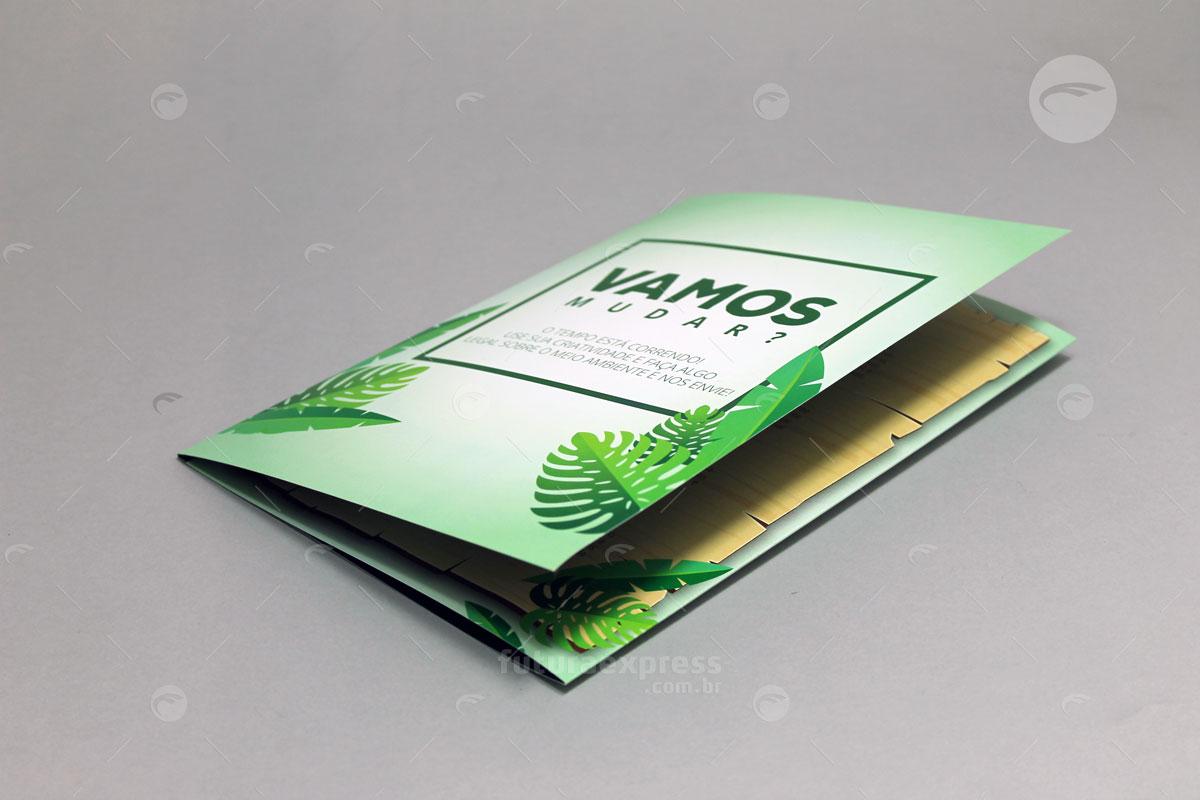 Tri-Folder Dobra Carteira