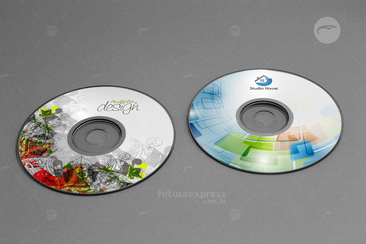 Rótulo de CD e DVD