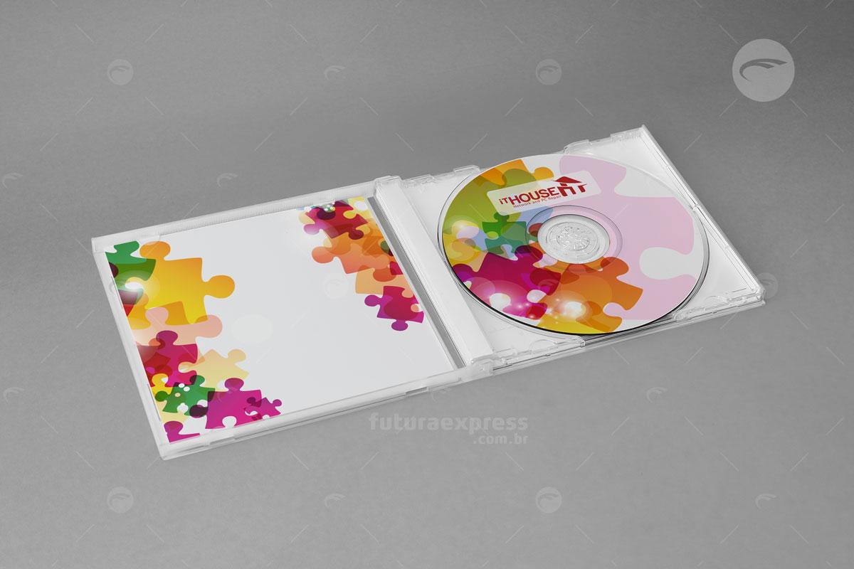 Capa e Encarte de CD