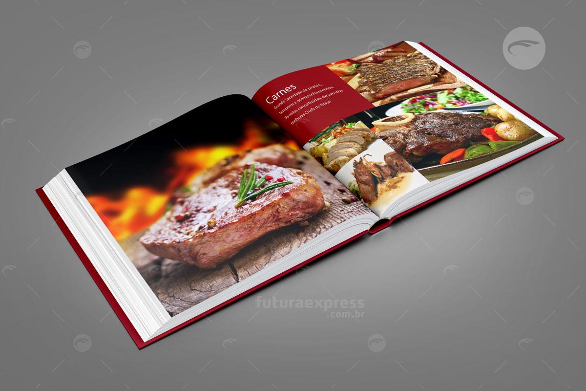 Livro Capa Dura Quadrado