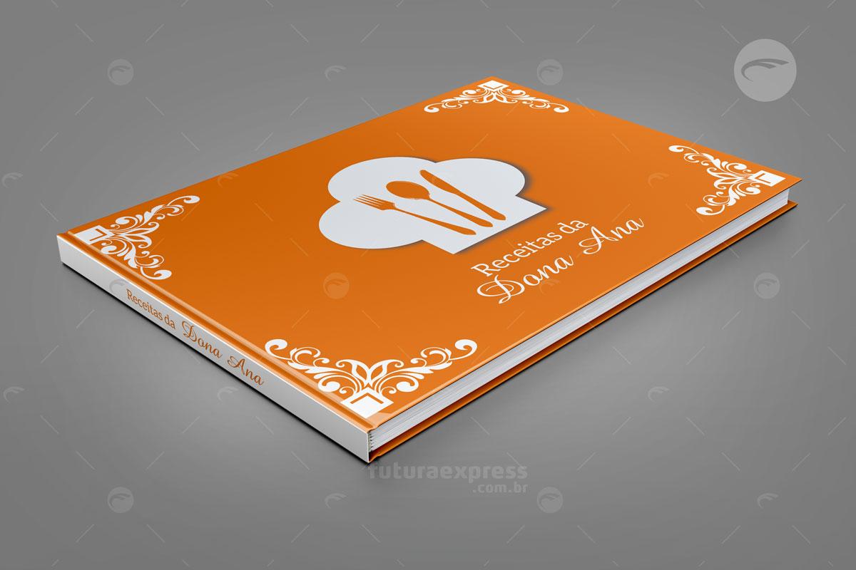 Livro Capa Dura Horizontal