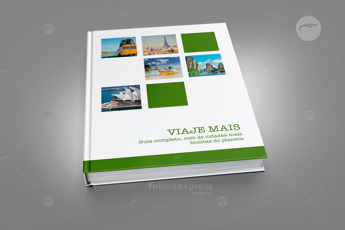 Livro Capa Dura Vertical