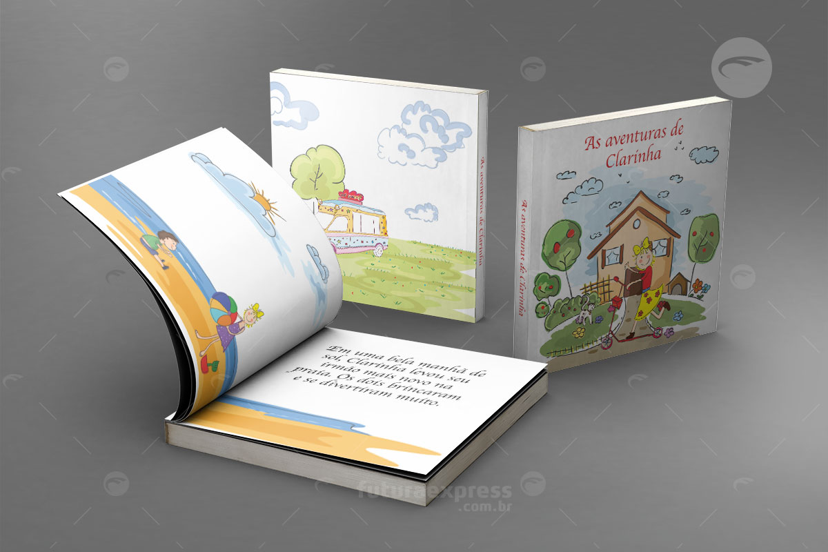 Livro Capa Flexivel Quadrado