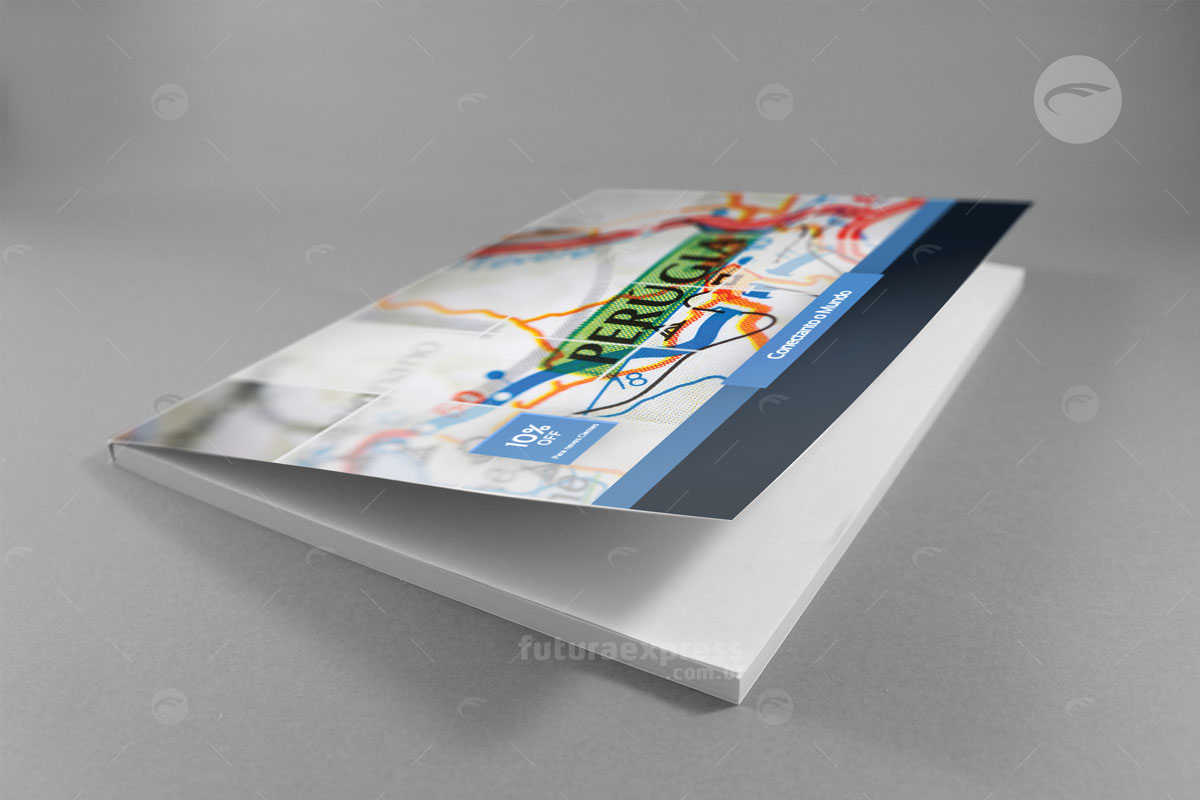 Bloco Horizontal - Capa Flexível Cod: 85