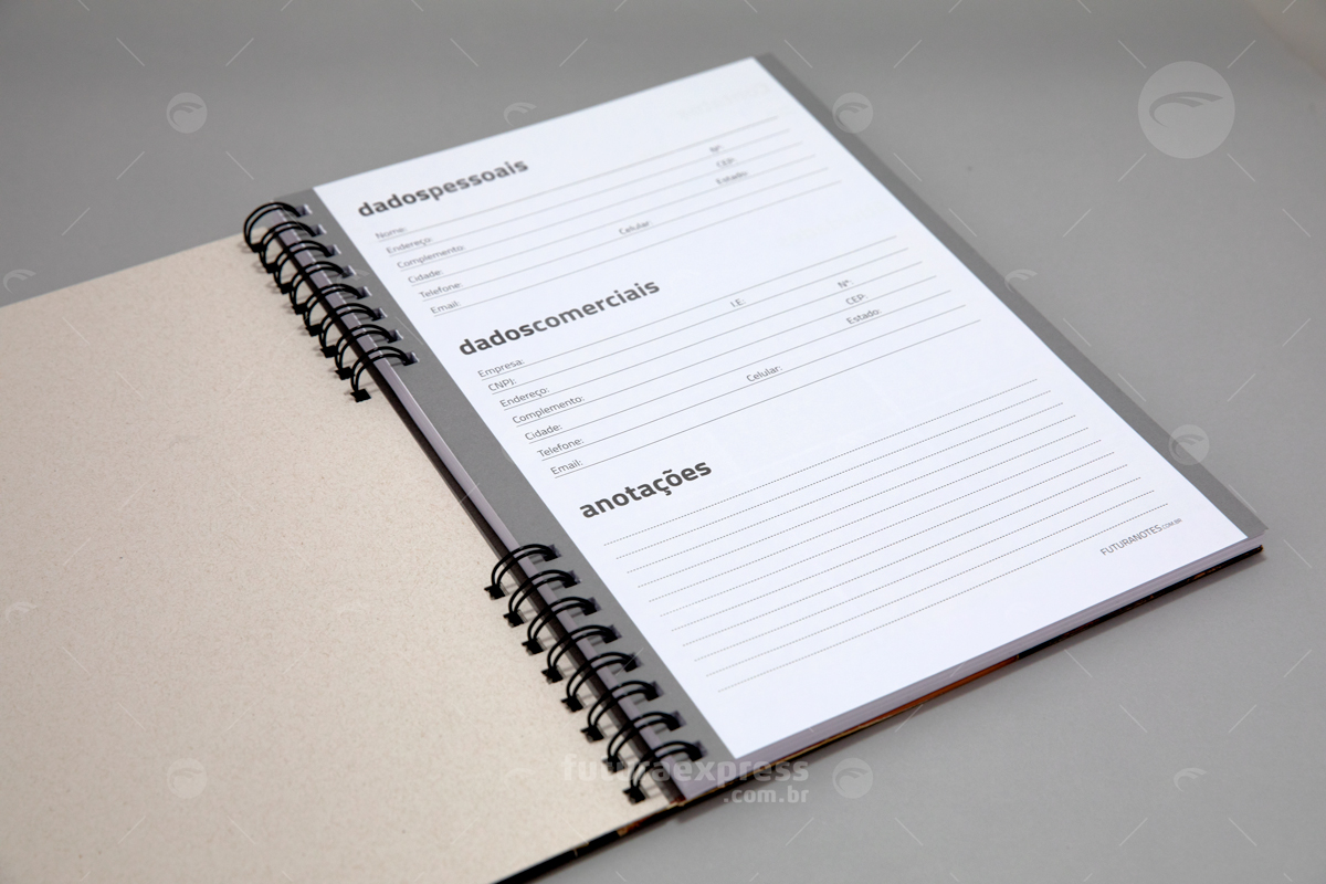Caderno Capa Dura A5