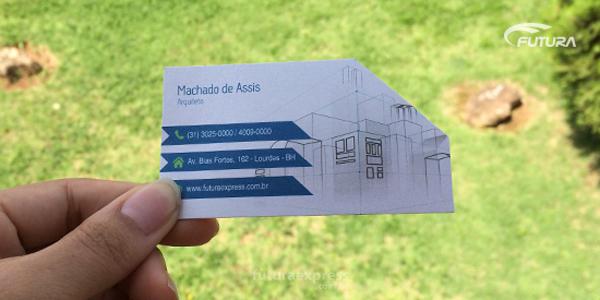 Como criar cartão de visita