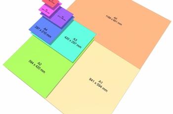Formatos para plotagens de engenharia e arquitetura