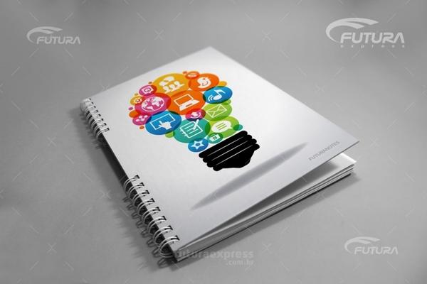 Caderno Personalizado Futura