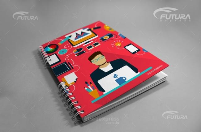 Conheça a linha de cadernos da Futura, ótima para brindes