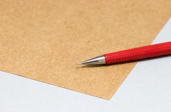 Impressão em papel kraft