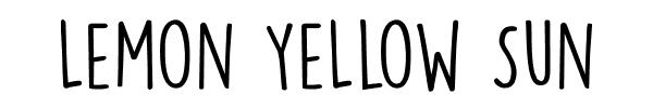 LEMON-YELLOW-SUN