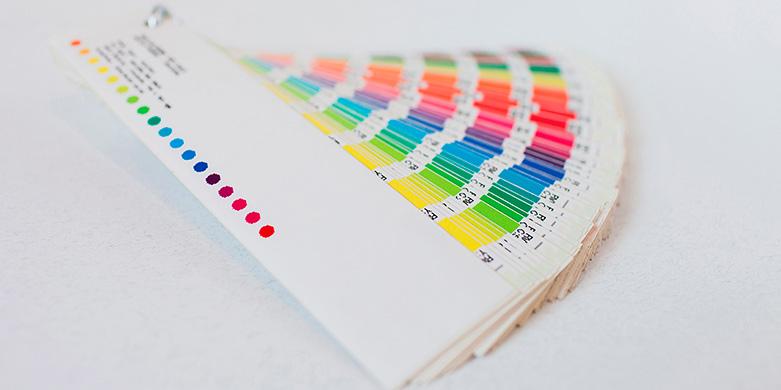 código de cores pantone